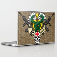 whiskey Laptop & iPad Skins featuring 68 Whiskey by Joshua Epling