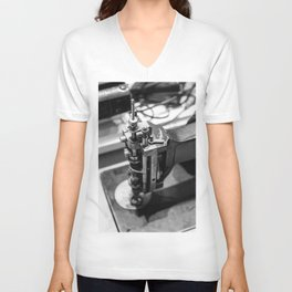 Portrait of a Seamstress: Kenneth Unisex V-Neck