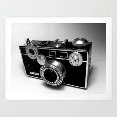 Argus C3 Camera Art Print