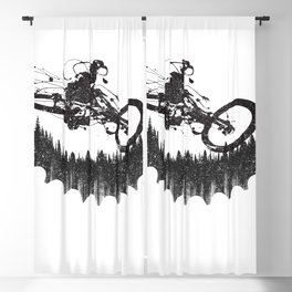 Forest Rider Blackout Curtain