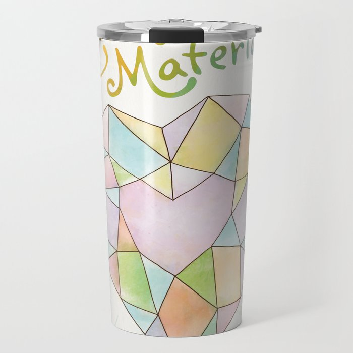 The Strongest Material Travel Mug