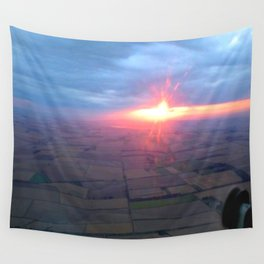 Flying at Sunset (Full Sutton) Wall Tapestry