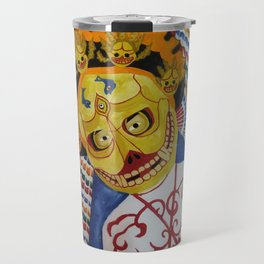 Masks Travel Mug