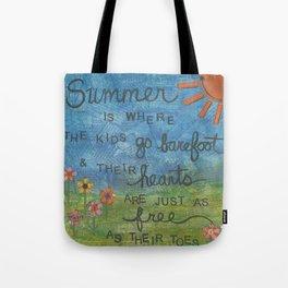 Summertime... Tote Bag