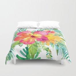 Floral paradise Duvet Cover