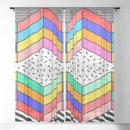 Talking Fun Games Sheer Curtain