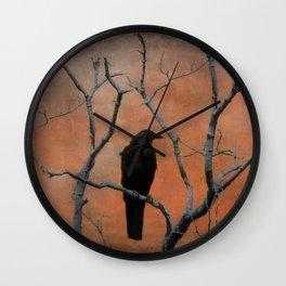 Nature Blackbird Wall Clock
