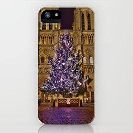 Joyeux Noël à Paris // Merry Christmas from Paris iPhone Case