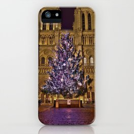 Joyeux Noël à Paris // Merry Christmas from Paris iPhone Case