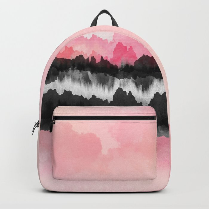 Pink Mountains Backpack