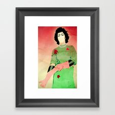 Dr. Frank N Furter Framed Art Print