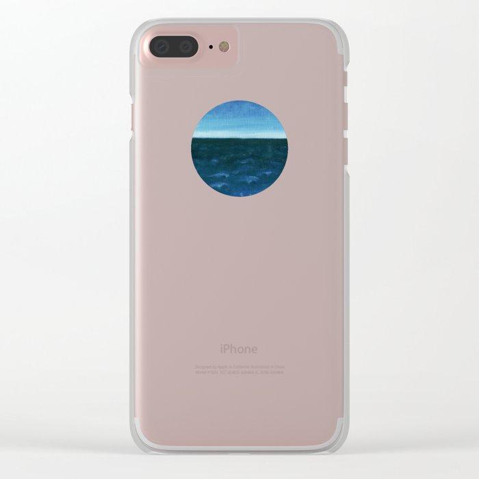 Night sea Clear iPhone Case