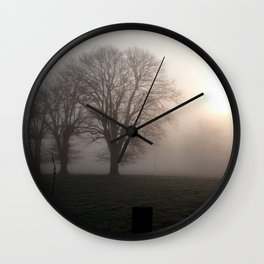 In the morning Wall Clock