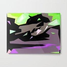 Gloria J Zucaro's  Abstract Digital Landscape Photo Art Print #5 Metal Print