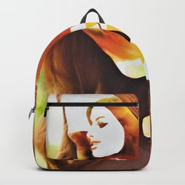 Autumnal Pumpkin Spiced Lady Latte Backpack