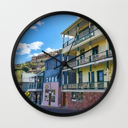 Streets of Jerome Wall Clock