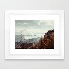 Lets Adventure darling Framed Art Print
