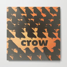 crow-62 Metal Print