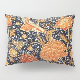 William Morris Cray Floral Art Nouveau Pattern Pillow Sham