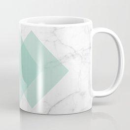 Marble Scandinavian Design Geometric Squares Coffee Mug