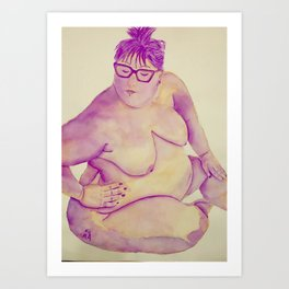 This is me Art Print