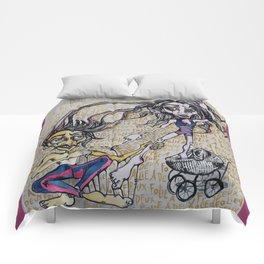 Folie a Deux Comforters