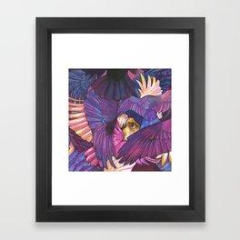 A Murder of Ravens Framed Art Print