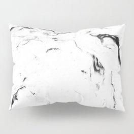 White Marble #society6 #decor #buyart Pillow Sham