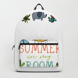 Summer in my Room Backpack