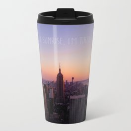 New York Metal Travel Mug