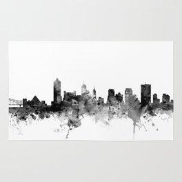 Memphis Tennessee Skyline Rug