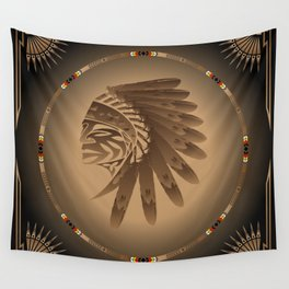 Honor and Strength Wall Tapestry
