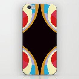 Colorful Retro Shapes iPhone Skin
