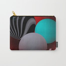 3D - abstraction -90- Carry-All Pouch