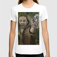 rick grimes T-shirts featuring Rick Grimes by Paulo Fodra