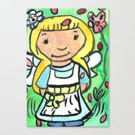 Little Alice Canvas Print