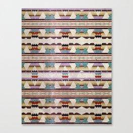 Aztec Mountains Canvas Print