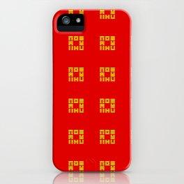 I Ching Yi jing – Symbols of Bagua 3 iPhone Case