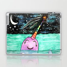 Narwhal Wish Laptop & iPad Skin