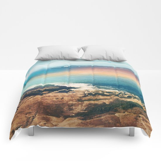 Colours of the sea Comforters