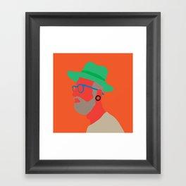 Hat deux  Framed Art Print