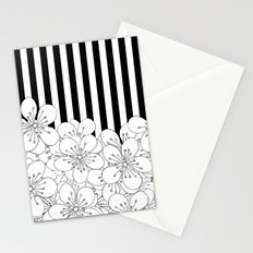 Cherry Blossom Stripes - In Memory of Mackenzie Stationery Cards
