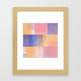 patches 01 Framed Art Print