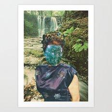 La Reina del Silencio Art Print
