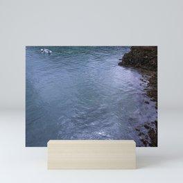 Sailing the Glass Mini Art Print