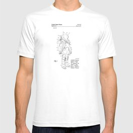 NASA Space Suit Patent T-shirt