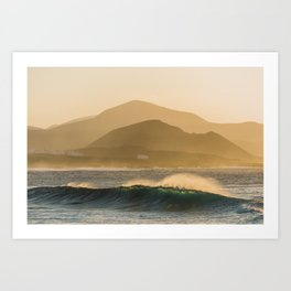 Perfect dawn, 2018 Art Print