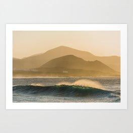 Perfect dawn, 2018 Art Print