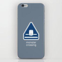 Monster Crossing iPhone Skin