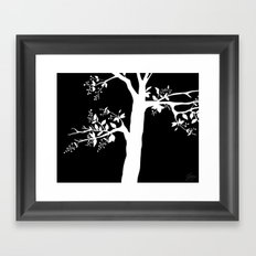 Chokecherry Tree Framed Art Print